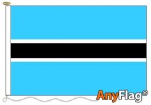 - BOTSWANA ANYFLAG RANGE - VARIOUS SIZES